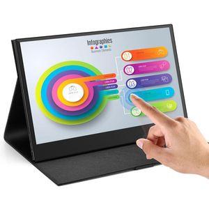 EM13L 13,3 дюймовый портативный PC Type USB C Gaming Contact Monitor 1920x1080 IPS LCD SN для дисплея ноутбука для PS4