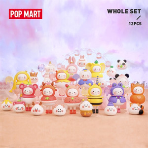 POP MART BOBO COCO Balloon land for whole box Toys figure blind box Action Figure Birthday Gift Kid Toy free shipping LJ201031