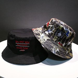 هوب لينة دلو قبعة الرجل المرأة الرياضة في الهواء الطلق الهيب كاب الزهور ضعف الجانب القطن الصيف الصيد الشمس قبعة بنما لأحدث القبعات