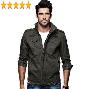 2021 хлопчатобумажные куртки бомбардировщики Casaco Masculino мужчины весенние куртка мужские пальто Весов Homme Printemps плюс размер 6xL
