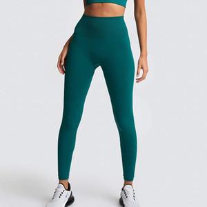 Высокая талия Леггинсы Йога для женщин Энергии Бесшовных Спортивных штанов Идущего Activewear Push Up Black Girl гетры для фитнеса