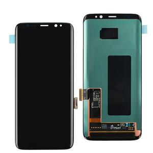 Para Samsung Galaxy S8 G950F pantalla LCD de pantalla táctil del OEM digitalizador repuesto Reemplazo del conjunto de piezas