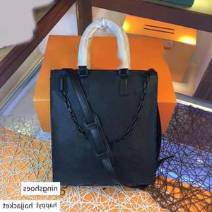 luxury L black flower onthego women totes large capacity shopping bag designer handbag purse