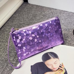 Cosmetic Bags Fashion Women Evening Party Clutch Bag Sequins Sparkling Bling Wallet Zipper Sequins Makeup HandBag