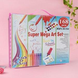 2021 Neue Stil Hohe Qualität DIY Kultivieren Kreativität Crayon Bunt Bleistifte Öl Pastellmalerei Anzug Für Kinder