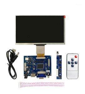 Pantalla de controlador de control VGA / AV / AV + pantalla LCD de alta definición IPS de 7 pulgadas para Android Windows Raspberry PI1