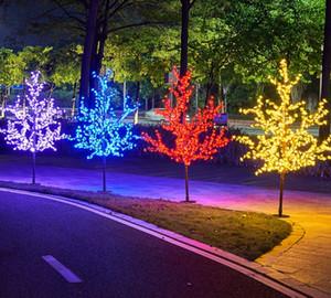 LED luminous simulation tree lamp outdoor cherry tree garden decorative courtyard lamp