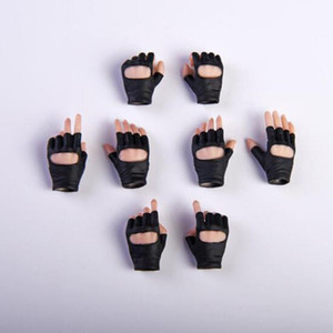 """1:6 Scale Gloves Hand Type Gun Hand Model Figure Fit For 12"""" TBleague Woman Lady Body Action Figures Doll Accessories 201020"""