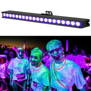 20 LED discoteca UV Violet Black Lights DJ 10W PAR Lampada UV per Party Christmas Bar Lampada Laser Stage Stage Wable Washer Spot Light Light