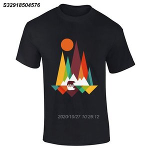 Hommes Garçons Bear Mountain Lot Vêtements de Danse Nouveauté Fitness Tee Funky T-shirt Top fierté Refroidir Casual hommes t-shirt unisexe New Fashion 52142810