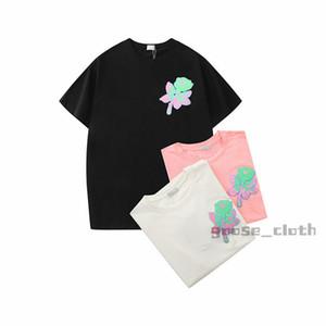 21ss Nuevos diseñadores para hombre para mujer T Shirts Tshirts Carta de moda Impresión de manga corta Camisetas de lujo Mujer de Lujo 2020 Ropa casual