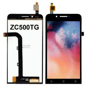 100% Probado 5.0 pulgadas de Asus Zenfone Ir ZC500TG X009DD LCD de pantalla táctil de repuesto digitalizador Asamblea repuestos mayorista
