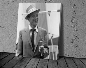 Frank Sinatra Poster Canvas Paintings Poster Print Wall Art for Living Room Home Decor