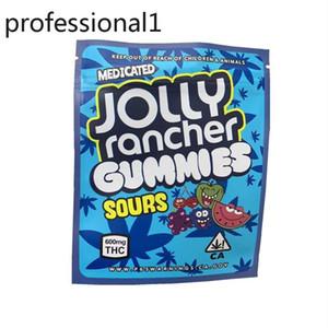 2021 Hot Jolly Rancher Gummies Gummies Frutta Sapore di imballaggio Sacchetti da confezione 600 mg California Mylar Plastic Imballaggio odore borse a prova di profondità