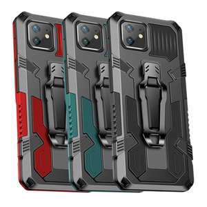 Shockproof Phone Case For iphone 12 Mini 11 Pro Max Xr Xs X For iphone SE 2020 7 Plus 8 Rugged Hybrid Armor Stand Covers