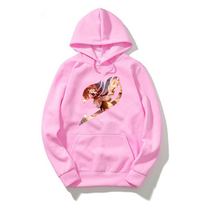 Fairy Tail Hoodies Sweatshirts Men women Kpop 2020 Clothing Anime Pullover Clothes Japanese Streetwear Harajuku Oversized Hoodie X1022