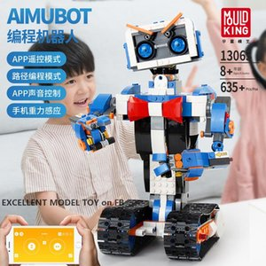 YX Robot Building Block, DIY Electric Remote Control Developmental Toy, Programmable, Voice Control, Kid' Birthday' Christmas Gift