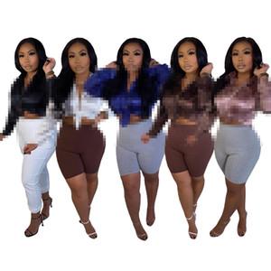Vêtements pour femmes européennes et américaines Fashion Casual Letter Impression Femmes Blouses Mousseline À Manches Longues Lâche Tops Chemises Mujer