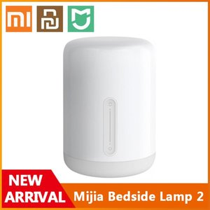 Xiaomi Youpin Original Bedside Lamp 2 Smart Table LED Night Light Colorful 400 Lumens Bluetooth WiFi Touch Control for Apple HomeKit Siri