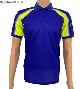 Summer Outdoor Out-Road Polo Chemise à manches courtes à manches courtes T-shirt Rider Uniforme Costume de cyclisme Costume de course Quick Courreur Polo