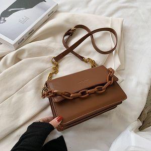Сумки с просьбой для женщин 2020 Высококачественная сумка с твердым цветом Кожаная сумочная сумка Модные клапаны Женщин плечо