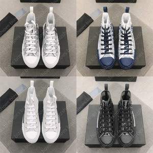 Schrägdesigner Sneakers 19 Lace-up-Plattform Schwarz Weiß SS Frauen Männer Schuhe Drucken Technisch 23 24 Freizeitschuhe Schuhe