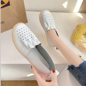 Lightweight Woman Flats Shoes Women Casual Butterfly Knot Hollow Out Summer Shoes Female Round Toe Mens Loafers Buy Shoes Online From Ji80#