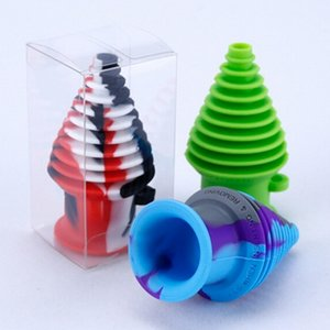 Silicone Mouthpiece for silicone glass bongs Dab Straw Oil Rigs Smoking Pipe Tobacco Cigarette glass Pipes smoking accessories