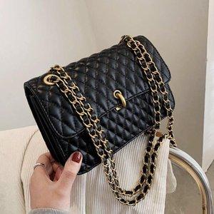 خمر لينة سلسلة الكتف حقائب crossbody للنساء 2021 جديد تصميم العلامة التجارية حقيبة يد رسول حقائب الإناث المحافظ جودة عالية