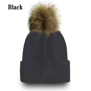 Hot Sale! Newest Winter Beanie Knitted Hats Sports Teams Baseball Football Basketball Beanies Caps Women& Men Pom Fashion Winter Top Caps