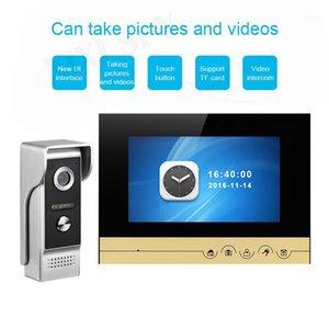 Interkom Video Kapı Zili Video Gözü Bir Özel House Video Call Home Interkom Kaleci Entryphone1