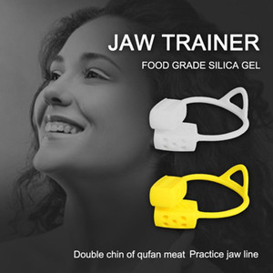 JAW Exerciseur Col Facial Muscle Formateur Jaw Exerciseur Grade Silicone Face Exercice Facial Chew Boucheuse
