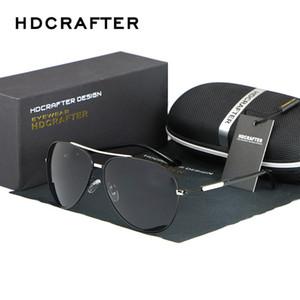 Солнцезащитные очки Мужские Поляризованные Мужчины Металлический Легкий Зеркало Вождение Для