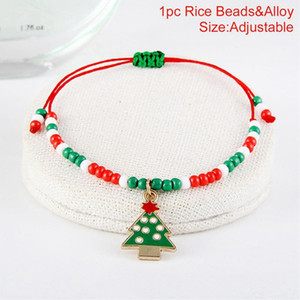 Fengrise Earring Necklace Christmas Decor Santa Claus Eardrop Pendant Christmas Decor For Home 2020 Navidad Ornament Xmas Gift sqcCUV