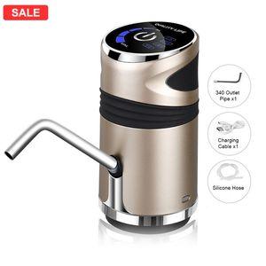 Household Automatic Water Dispenser Bottled Water Manual Press Intelligent Portable Dispenser USB LED Display