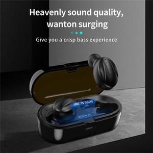 XG-13 TWS Bluetooth 5.0 무선 이어폰 인 이어 스테레오 헤드폰 소음 감소 스포츠 이어 버드는 소매 상자에서 안드로이드 전화에 대 한