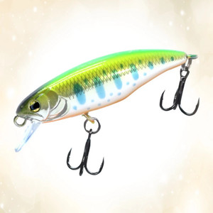 Japanese Style Fishing Lure Sinking Minnow Hard Bait 52mm 4.5g Fishing Wobblers Jerkbait Bass Trout Lure Swimbait for Perch Trout