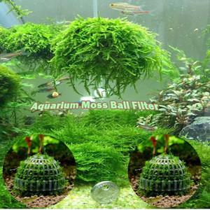 Aquarium Marimo Moss Ball Live Plants Filter For Java Shrimps Fish Tank Decorations & Ornaments