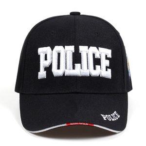 2019 Nouvelle POLICE Mens tactique SWAT Cap Baseball Cap Men Gorras Para Hombre femmes Snapback os Masculino Armée Cap LetterX1016