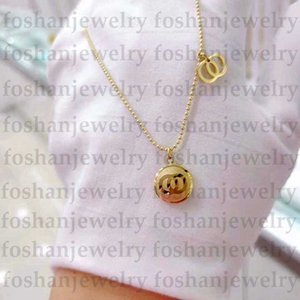 Fashion Gold Necklace Luxury Letter Small Pendant Designer Necklace Women Necklace Designer Jewelry Best Quality