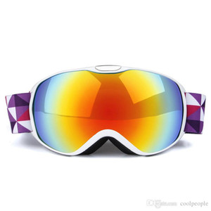 Kids Ski Ski Polarized Anti-Fog UV400 Mask Double Snow Layers Eyewear Snowboard Women Goggles Skiing Men Sport Goggles Sunglasses Mrsmx