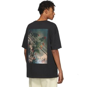 19FW FOG Fear of God ESSENTIALS Floral Photo Printed T-shirt Men Tee Women Fashion Short Sleeves Street Hip Hop Summer Tee HFYMTX603