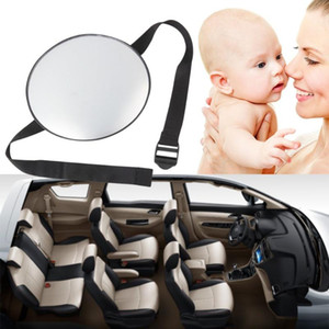 Stylish Car Safety Easy View Back Seat Mirror Baby Facing Rear Ward Child Infant Care Round Shape Baby Kids Monitor