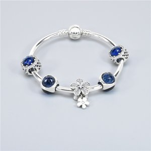 Classic Women Gift Blue Beaded Bracelet 8 Colors Fashion Female Elegant Beaded Bracelet Crystal Rhinestone Beads Bracelets EEE2612