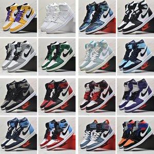 WithBox SnakeskinJordanRetro 1 Jumpman Low 1s 1 OG Basketball UNC Chicago Top 3 Travis Scotts Washed Denim stylist Shoes 22248641