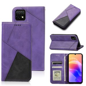 Hot Recommend leather Strong magnetic phone case for Huawei P40 Enjoy 10e P40 lite E Honor 30S Play 4T Pro feels comfortable