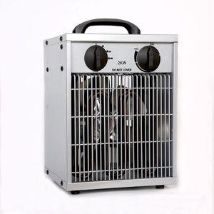 2KW Waterproof Electric Heater for Living Room Bathroom Energy-saving Hot Air Blower Warming Space Heater EU UK Plug Home