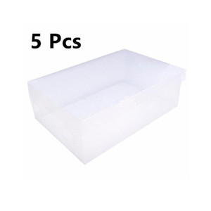 5pcs Children women men Plastic Shoes Container Home Sundries Living Room Kid Toys Containers Home Storage Box O bbySLv