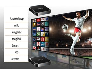 Support program TV 10000 real-time on-demand m 3 u Android smart TV France United States Canada United Kingdom Germany