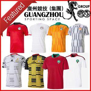 2020 2021 이집트 M.SALAH 10 살라 코트 디부 아르 가나 모로코 축구 유니폼 (20) (21) 홈 원정 저지 축구 셔츠